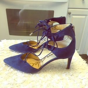 Sam Edelman Taylor Ghillie lace pointed toe pump!